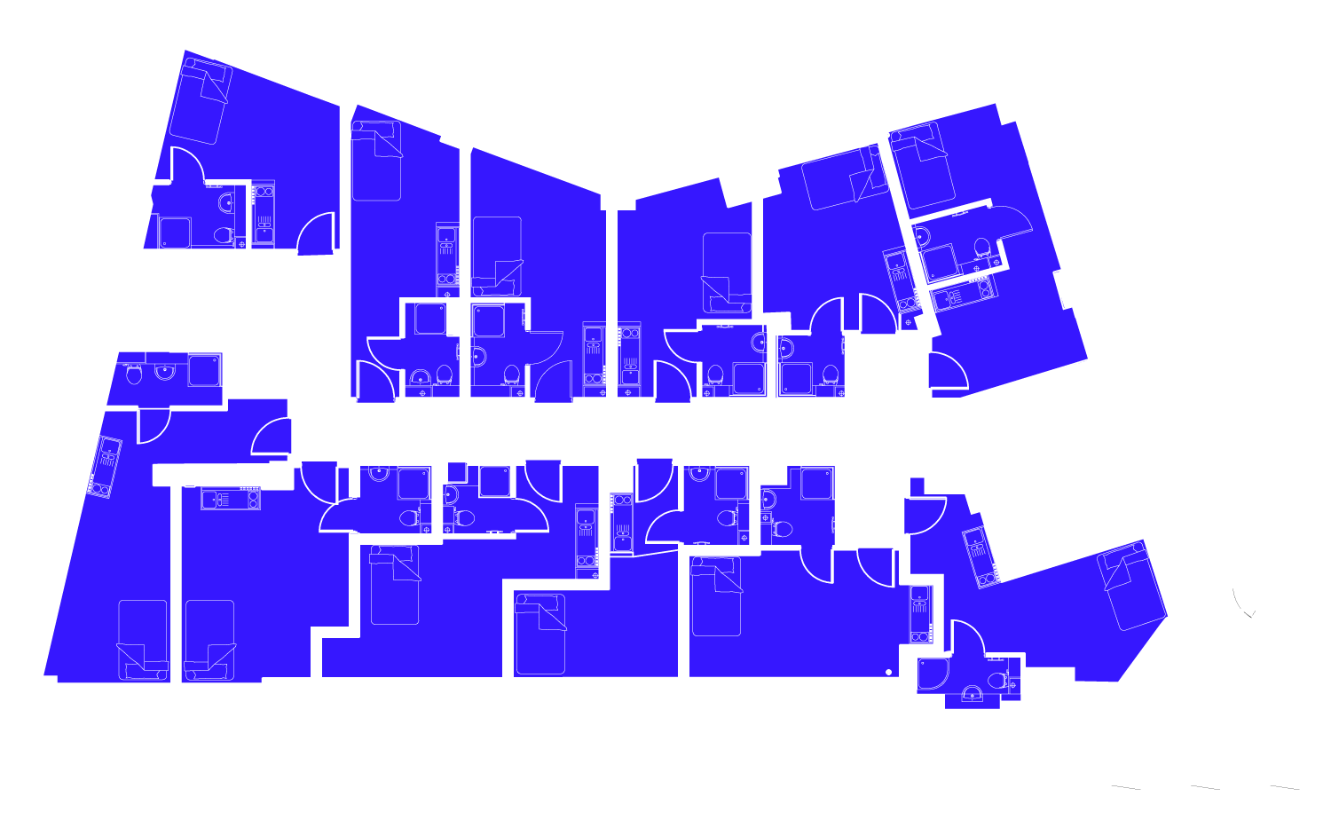 Indivative floor plan standard